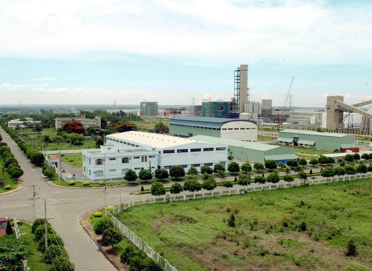 Căn cứ Quán Ngang xưa nay đã trở thành Khu công nghiệp sầm uất.
