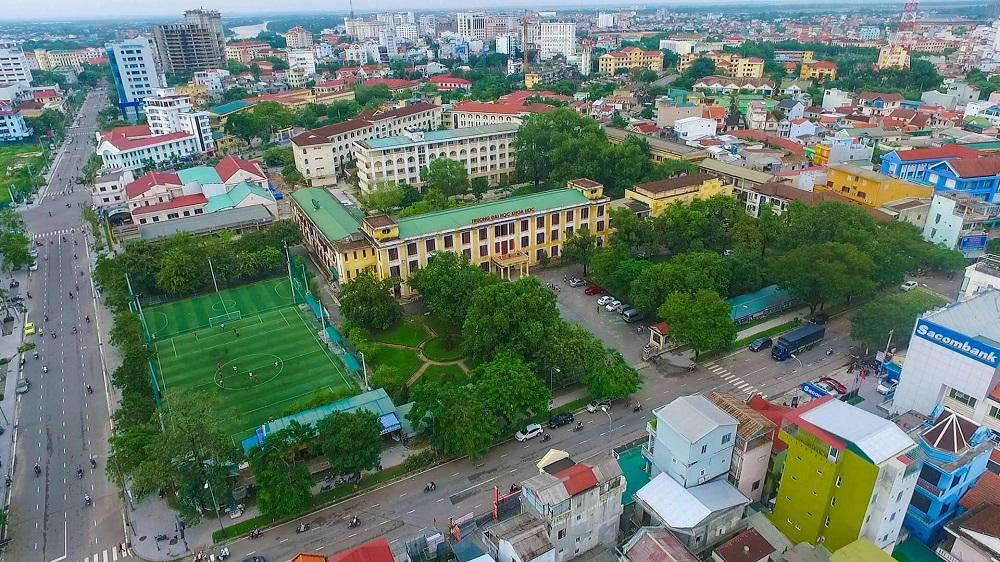 Một góc Trường Đại học Khoa học - Đại học Huế.