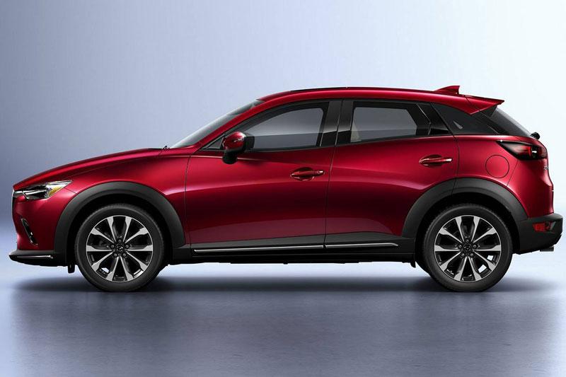 3. Mazda CX-3 2021 (giá khởi điểm: 20.640 USD).