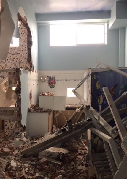 Bên trong một căn hộ mini tại chung cư 9X House bị cưỡng chế.