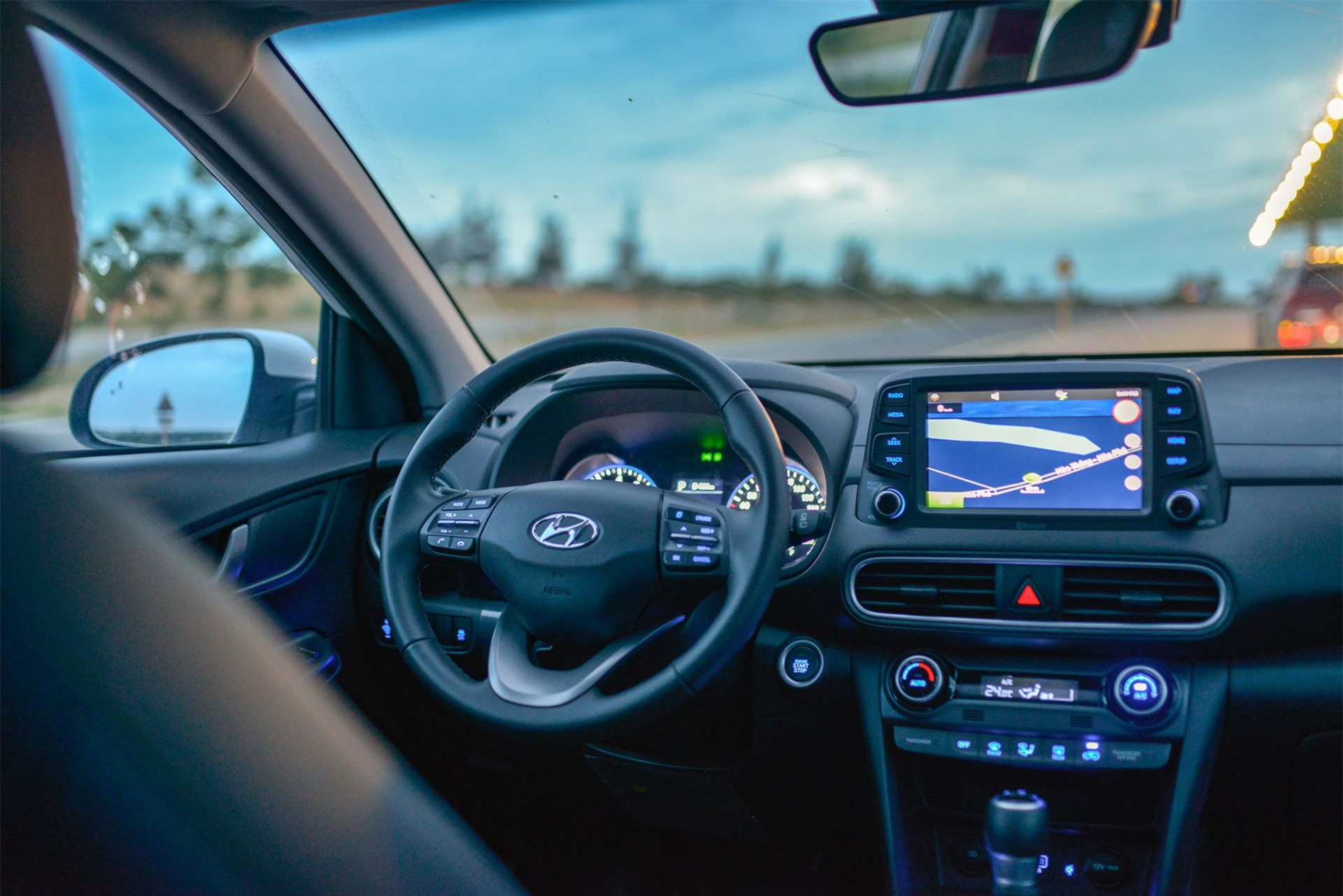 Nội thất xe Hyundai Kona 2.0
