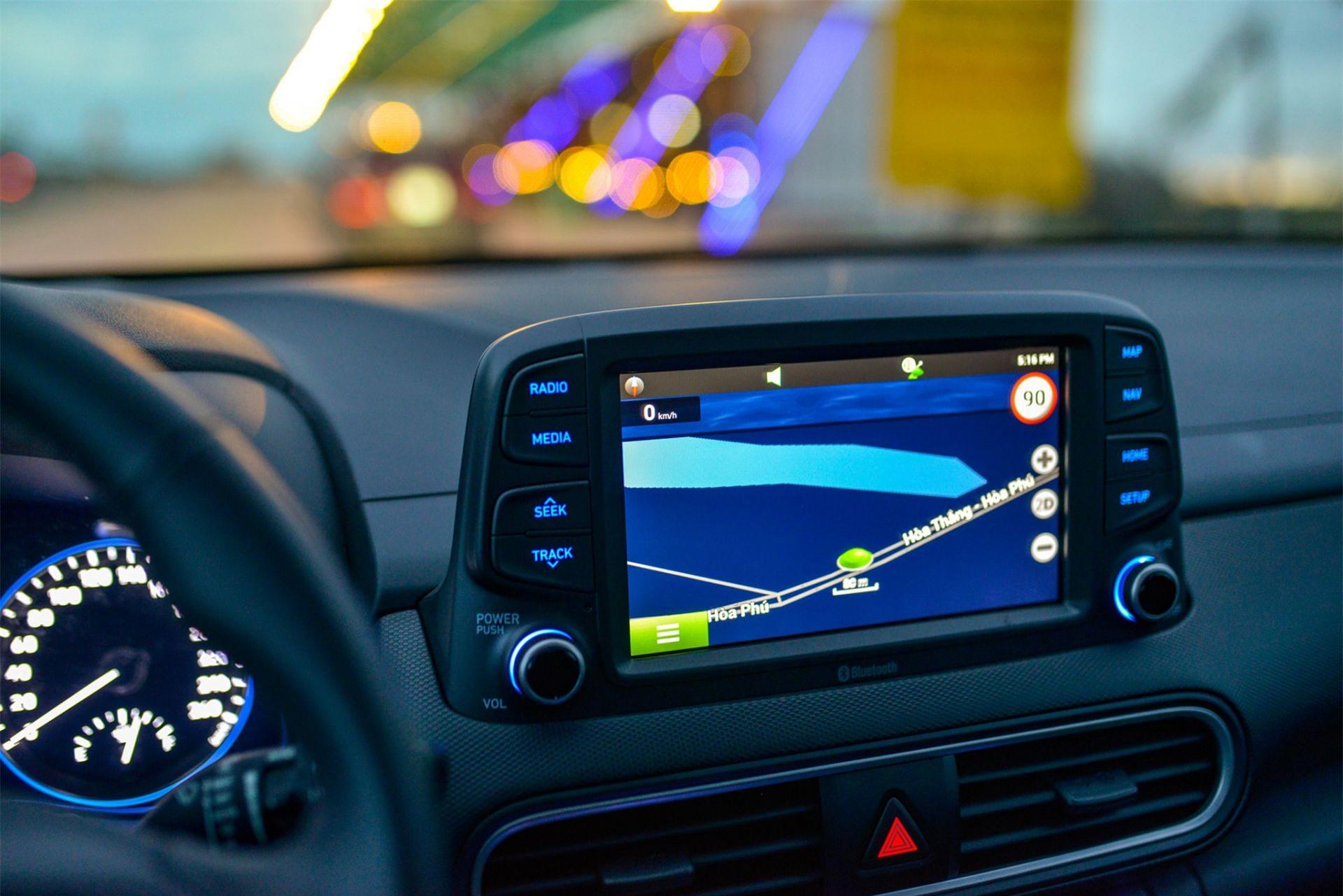 Màn hình xe Hyundai Kona 2.0