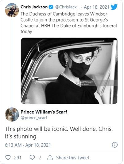 Điều ít biết đằng sau bức ảnh gây bão mạng, đi vào lịch sử của Công nương Kate tại tang lễ Hoàng tế Philip - Ảnh 4.