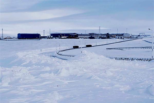 Căn cứ quân sự Severny Klever của Nga tại Bắc Cực. Ảnh: AP