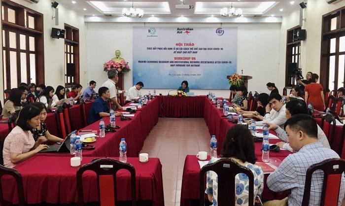 CIEM cho biết, Tăng trưởng GDP của Việt Nam giai đoạn 2021-2023 có thể đạt 6,76%.