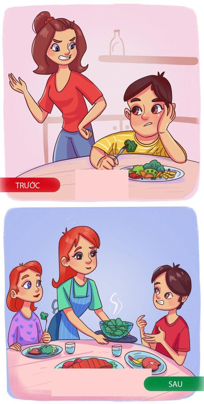15 sai lầm trong ăn uống cha mẹ thường ép khiến trẻ lười ăn trong tương lai - Ảnh 7.