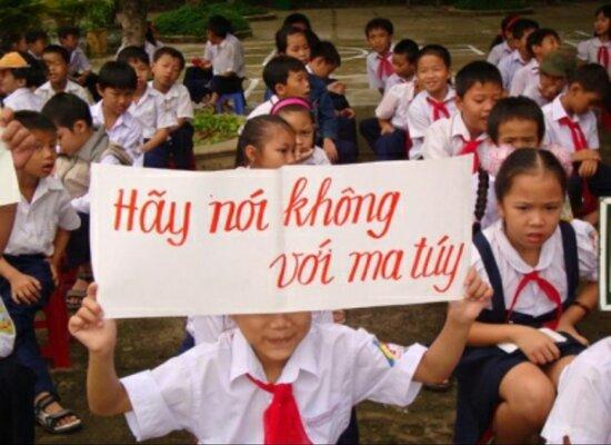 Chiến dịch tuyên truyền tác hại của Ma túy đối với học sinh không bao giờ thừa