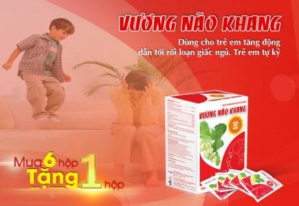Vương Não Khang - Hoạt huyết, tăng cường vi chất và năng lượng cho não.