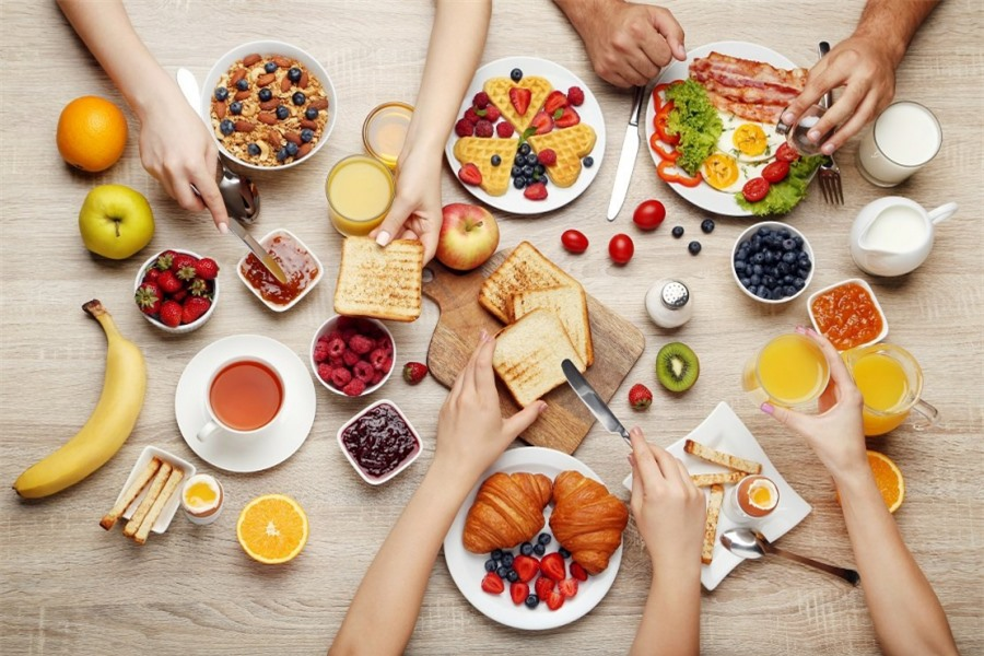Bữa sáng đúng khoa học là phải cung cấp được đầy đủ các thành phần thiết yếu cho cơ thể.