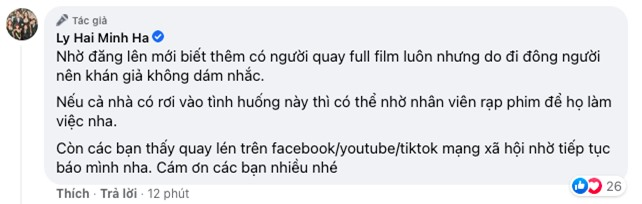 Đáng lên án: Lý Hải - Minh Hà lại kêu cứu vì Lật Mặt bị quay trộm, đỉnh điểm là có người quay lại toàn bộ phim - Ảnh 4.
