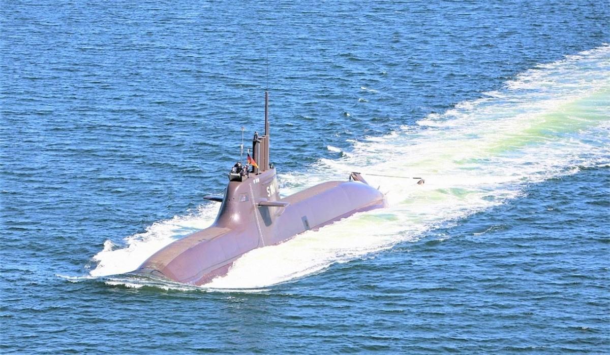 Type 212A là tàu ngầm diesel-điện tiên tiến sử dụng một hệ thống đẩy độc lập không khí AIP; Nguồn: wikipedia.org
