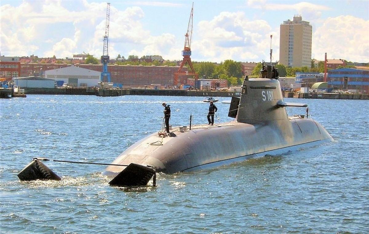 Đức và Na Uy đã quyết định mua tàu ngầm tàng hình phi hạt nhân tiên tiến phiên bản 212CD cho thập kỷ 2030; Nguồn: wikipedia.org