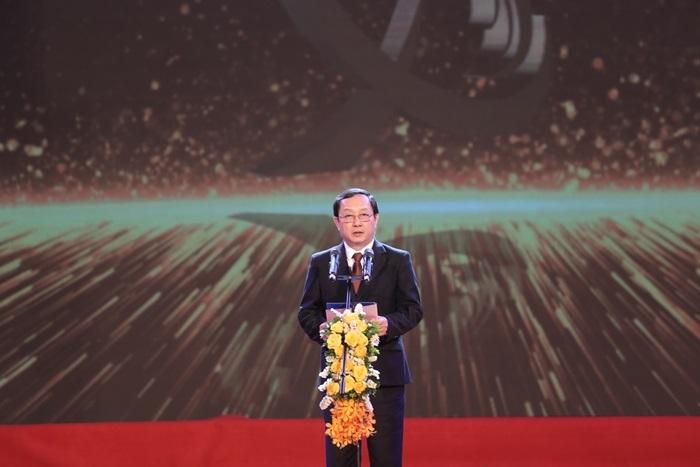 Bộ trưởng Bộ KH&CN Huỳnh Thành Đạt phát biểu tại buổi lễ.
