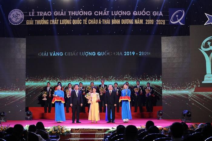 Công ty Cổ phần Sao Thái Dương là một trong những doanh nghiệp vinh dự đạt Giải Vàng Chất lượng Quốc gia năm 2020.