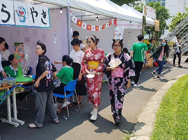 Sinh viên ĐH Đông Á tham gia Lễ hội giao lưu văn hóa Việt - Nhật và Ngày hội việc làm Nhật Bản 2021