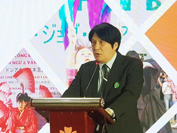 Ông Yakabe Yoshinori, Trưởng Văn phòng Lãnh sự Nhật Bản tại Đà Nẵng...