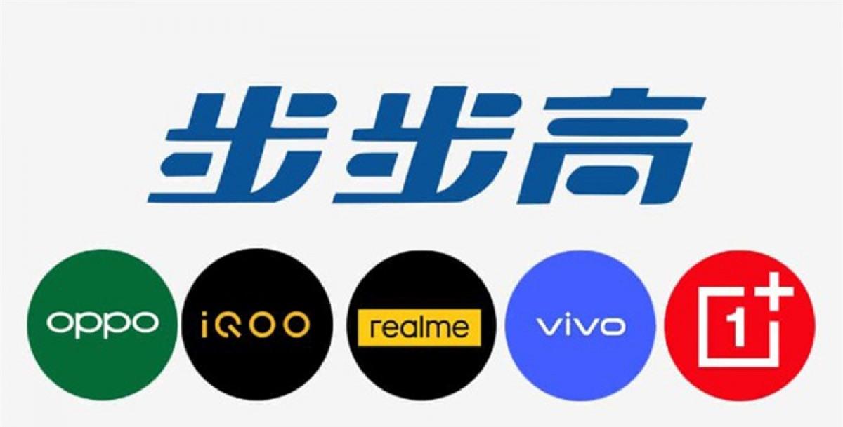 Những thương hiệu con của BBK Electronics.
