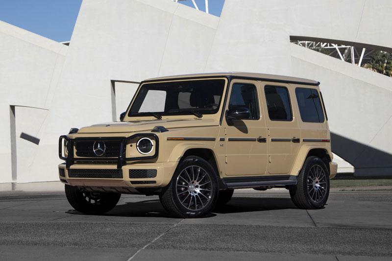 6. Mercedes-Benz G-Class 2021 (giá khởi điểm: 156.450 USD).