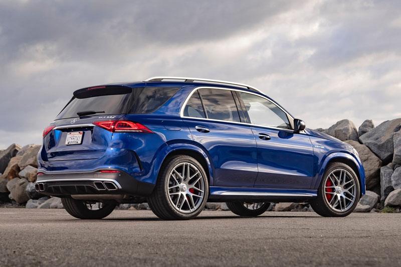 9. Mercedes-Benz GLE 2021 (giá khởi điểm: 116.000 USD).