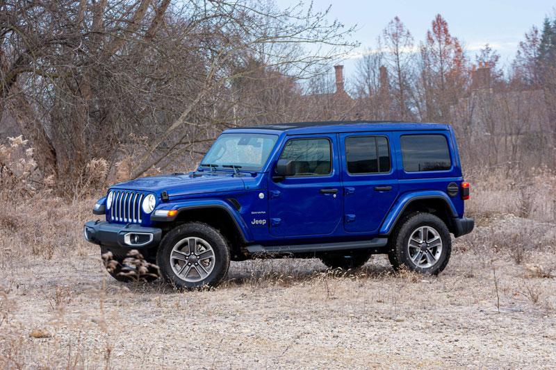 1. Jeep Wrangler Unlimited (mức độ mất giá trung bình sau 5 năm: 30,9%).