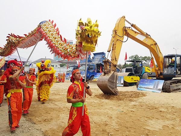 Dự án có lối kiến trúc hiện đại nhưng gửi gắm được tính dân tộc của người Việt