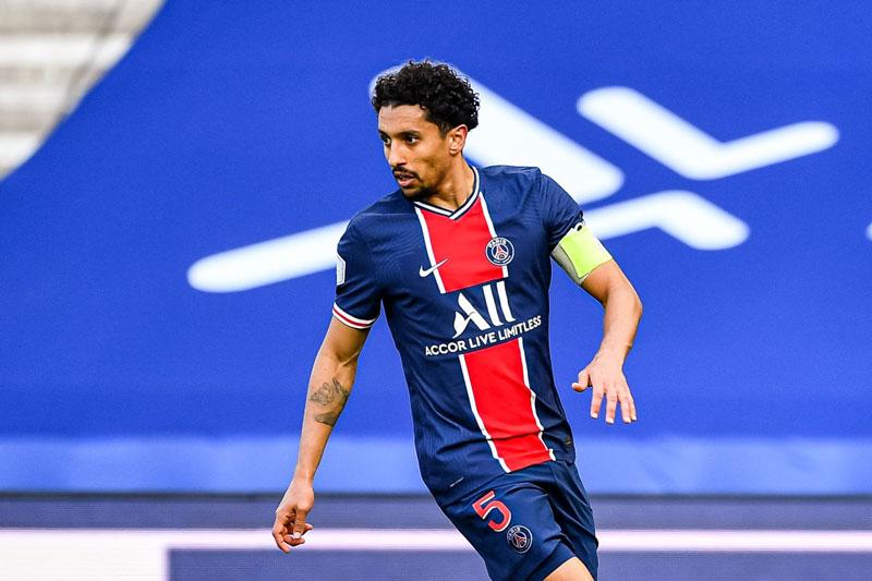 Trung vệ: Marquinhos (Paris Saint-Germain).