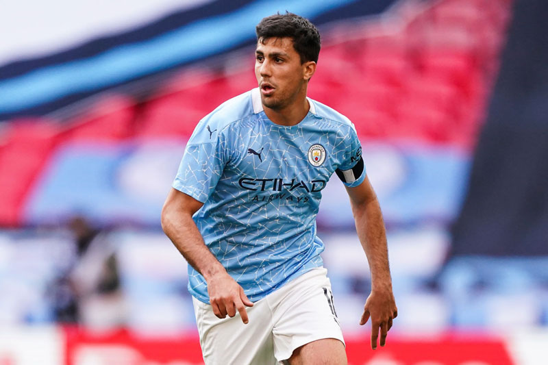 Tiền vệ: Rodri (Man City).