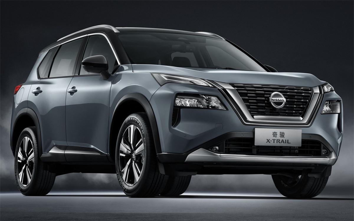 Nissan X-Trail 2021 chinh thuc ra mat tai Trung Quoc anh 1