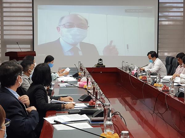 GS.TS CHO Seigen (Đại học Quốc gia Yokohama, Trưởng BQL dự án) thông tin về mục tiêu của dự án