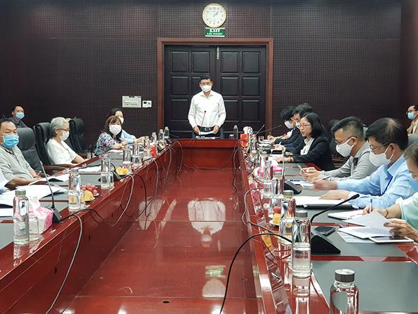 Phó Chủ tịch Thường trực UBND TP Đà Nẵng Hồ Kỳ Minh phát biểu khai mạc Hội thảo khởi động Dự án Thúc đẩy tiết kiệm năng lượng cho người dân TP Đà Nẵng do JICA (Nhật Bản) tài trợ