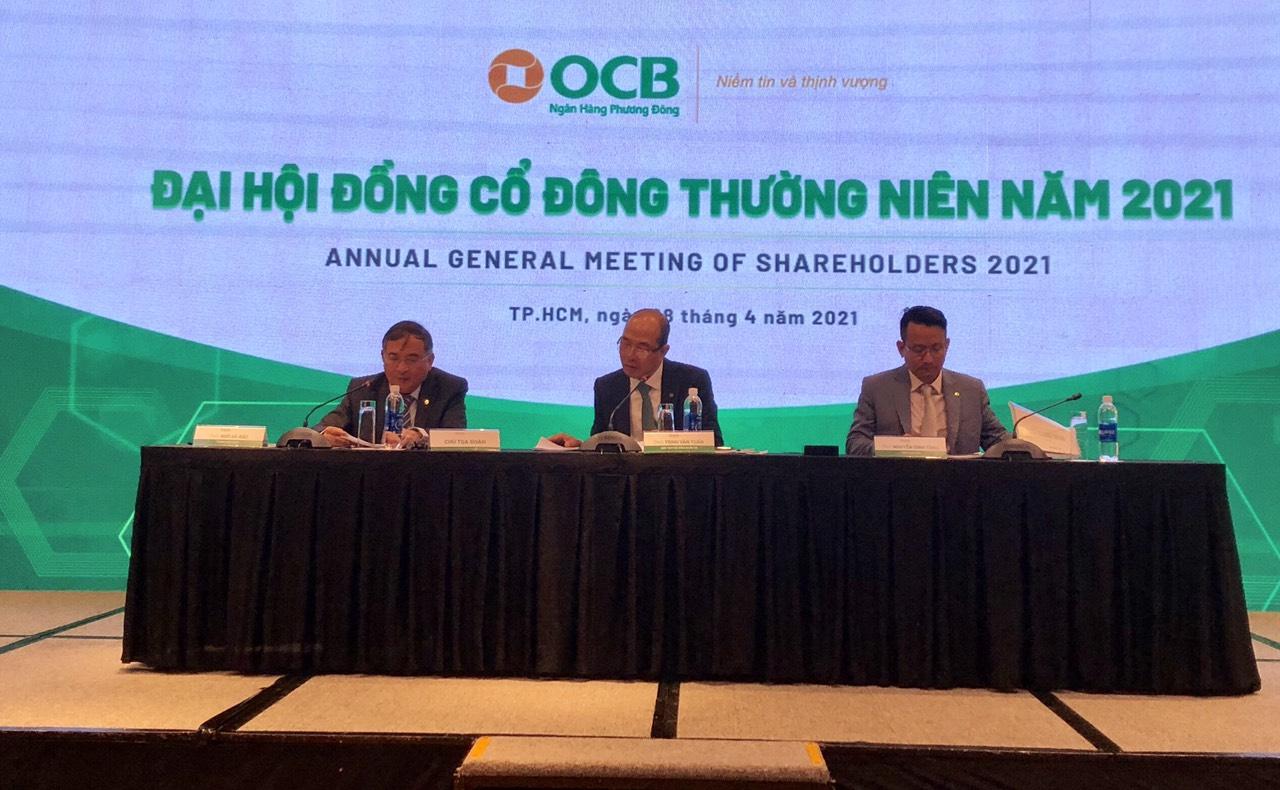 Đại hội cổ đông Ngân hàng Phương Đông năm 2021