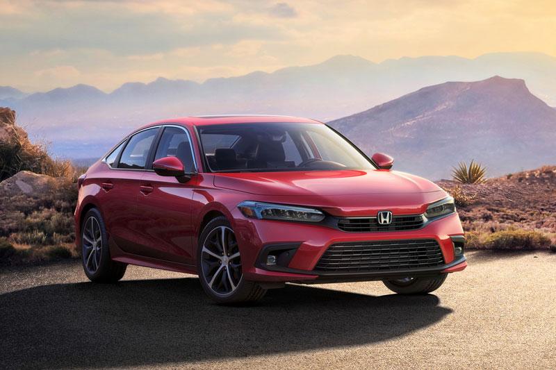 Honda Civic 2022.