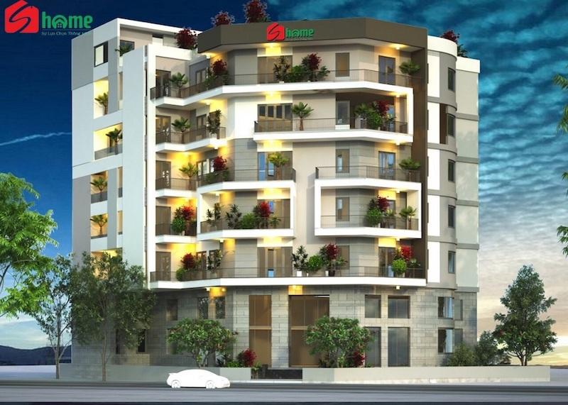 Phối cảnh của dự án căn hộ mini S-Home Tân Bình.