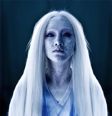 Mỹ nhân Hoa ngữ để tóc trắng: Cúc Tịnh Y như sương tuyết, Dương Mịch tựa nữ thần 5