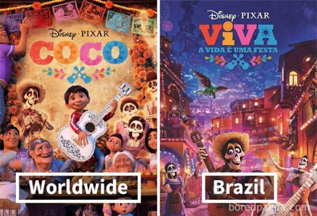 9 thay đổi thú vị của các phim hoạt hình Disney khi được chiếu trên các quốc gia 2