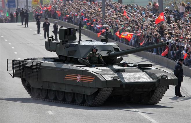 Bất ngờ trước đối thủ được đặt lên bàn cân với xe tăng T-14 Armata của Nga - Ảnh 1.