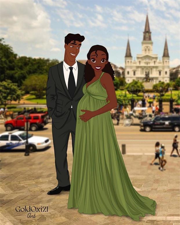 Tiana và hoàng tử ếch Naveen