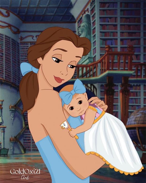 Belle và nàng công chúa nhỏ
