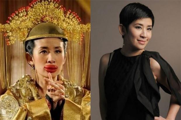 Mỹ nhân Hoa ngữ bị 'hủy dung' trong phim: Triệu Vy xấu xí, Địch Lệ Nhiệt Ba biến dạng 5