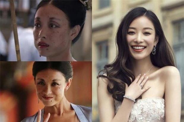Mỹ nhân Hoa ngữ bị 'hủy dung' trong phim: Triệu Vy xấu xí, Địch Lệ Nhiệt Ba biến dạng 8