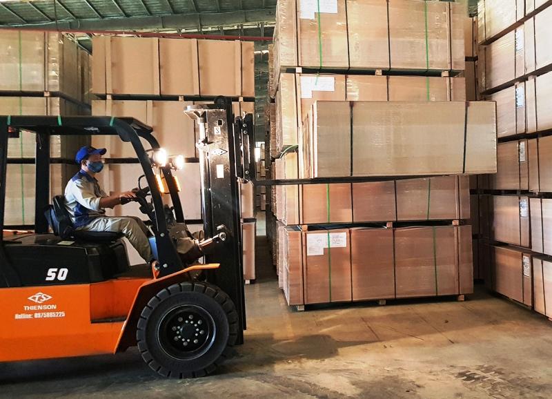 Công nghiệp chế biến gỗ được tỉnh Quảng Trị xác định là điểm nhấn trong phát triển để tạo thêm nhiều việc làm cho người lao động.