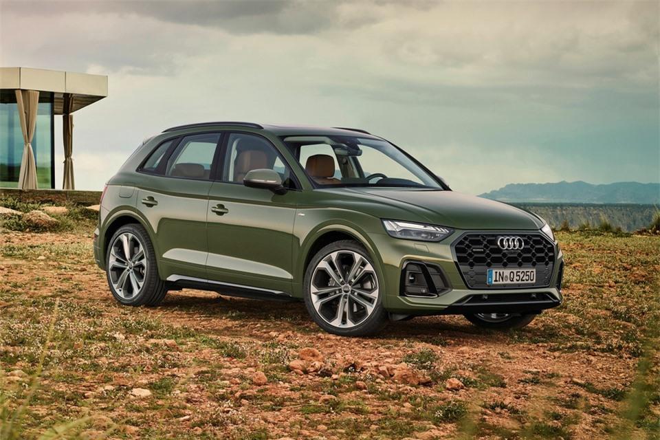 Audi Q5 2021 chuan bi ve Viet Nam anh 1