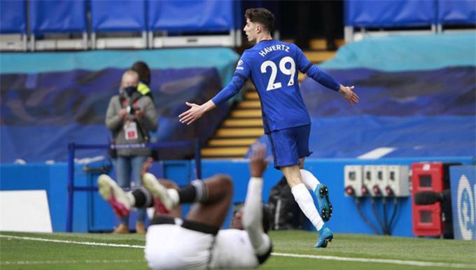 Havertz tỏa sáng rực rỡ ở trận thắng Fulham khi lập 1 cú đúp
