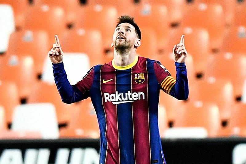 Cuộc đua Vua phá lưới La Liga 2020/2021: Messi cầm chắc phần thắng