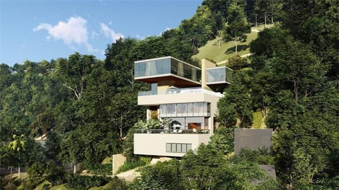 Bà xã Chi Bảo khoe được chồng tặng biệt thự view biển siêu đồ sộ, phản ứng lầy lội khiến netizen bật cười - Ảnh 2.