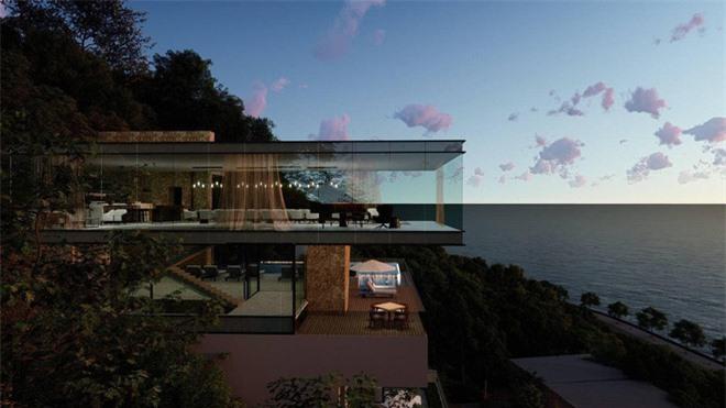 Bà xã Chi Bảo khoe được chồng tặng biệt thự view biển siêu đồ sộ, phản ứng lầy lội khiến netizen bật cười - Ảnh 4.