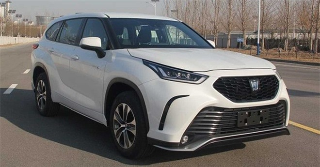 Toyota Crown Kluger 2021 ra mat tai Trung Quoc anh 2