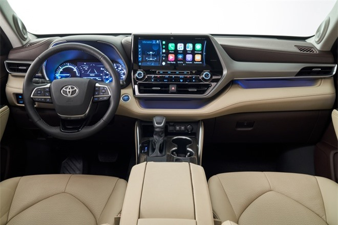 Toyota Crown Kluger 2021 ra mat tai Trung Quoc anh 6
