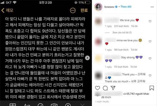 Mina hé lộ chi tiết mới gây sốc: Bị Jimin đánh thẳng tay, các thành viên AOA khác cũng bị chửi mắng mỗi ngày - Ảnh 3.