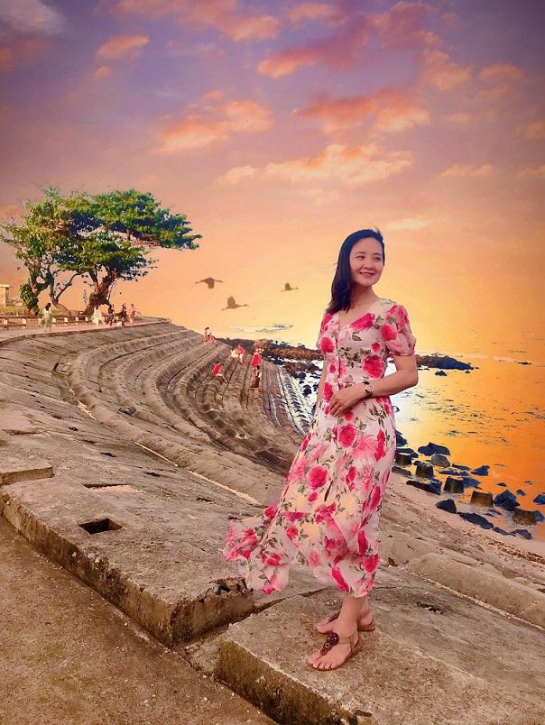 Du khách lưa lại khoảng khắc đẹp tại Đảo Cồn Cỏ